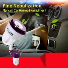 Giá Bán May Khuếch Tan Tinh Dầu Xe Hơi Aroma Car Ii Humidifier 2 Cổng Usb Cần Dẻo Bẻ 360 Độ Mới