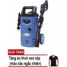 Giá Bán May Phun Xịt Rửa Cao Ap Co Banh Xe Kachi 1400W Xanh Tặng Ao Thun Body Nam Cao Cấp Mới Rẻ