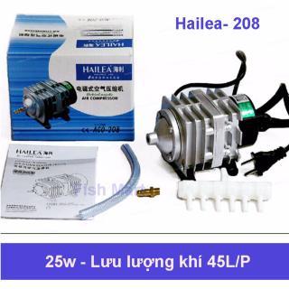 Máy sủi oxy mini Hailea (25W 45L P) công suất mạnh, sử dụng cực bền - Hàng mới nhất, Bảo hành 1 đổi 1 by Fish Mart ( chạy điện) thumbnail