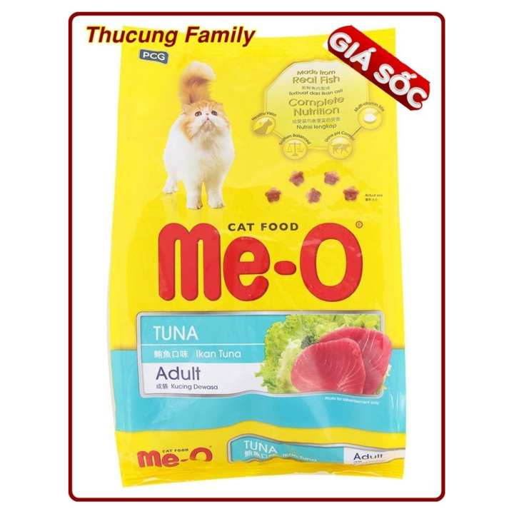 Me-O Thức ăn hạt cho Mèo trưởng thành vị Cá ngừ - 7kg.