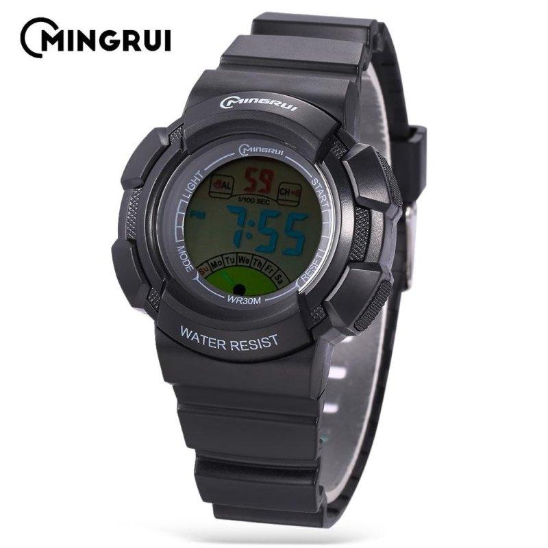 Nơi bán MINGRUI MR - 8540061 Kids Digital Movt Watch LED Light Date Day Chronograph 3ATM Wristwatch - intl