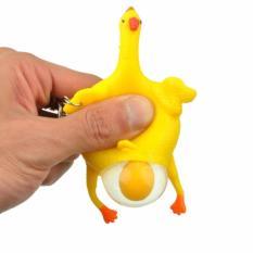 Móc chìa khóa gà đẻ trứng ngộ nghĩnh