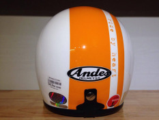 Cửa Hàng Mũ Bảo Hiểm Andes 111C Ride 3S Trắng Cam Vietnam