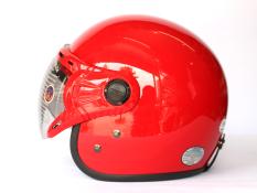 Mũ Bảo Hiểm Co Kinh Grs A368K Đỏ Bong Mới Nhất