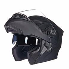 Mũ bảo hiểm fullface lật hàm GXT 2017 (Đen nhám - Size XL)