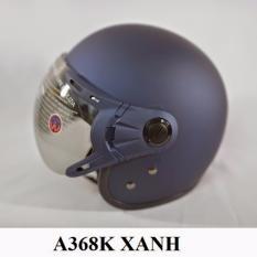 Mua Mũ Bảo Hiểm Grs A368K Xanh Tim Than Nham