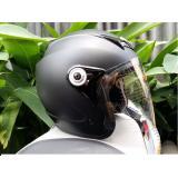 Cửa Hàng Mũ Bảo Hiểm Moto Napoli Tem Chuẩn Quatest 3 Đen Nham Kinh Trong Trực Tuyến