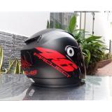 Bán Mua Mũ Bảo Hiểm Moto Napoli Tem Số 46 Đỏ Kinh Trong Trong Hồ Chí Minh