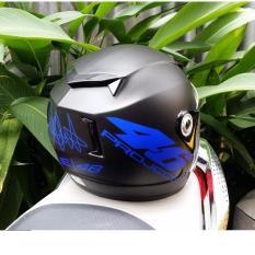 Chiết Khấu Mũ Bảo Hiểm Moto Napoli Tem Số 46 Xanh Kinh Trong Napoli