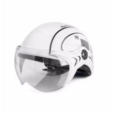 Mũ Bảo Hiểm PGK Có Kính Chông Bụi UV400 Nhật Bản