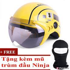 Bán Mũ Bảo Hiểm Spo Cao Cấp Tặng Kem 1 Mũ Trum Đầu Ninja Vang Trong Hồ Chí Minh