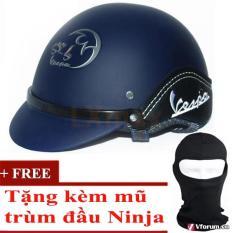 Giá Bán Mũ Bảo Hiểm Thời Trang Ốp Da Tặng 1 Mũ Trum Đầu Ninja Lxmax Xanh Lxmax Tốt Nhất