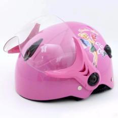 Giá bán Mũ bảo hiểm trẻ em dành cho bé gái ( màu ngẫu nhiên )