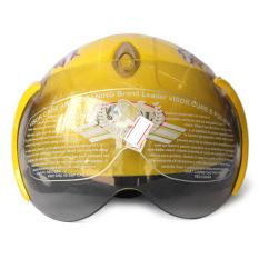 Giá bán Mũ bảo hiểm trẻ em kính Napoli 108s (Vàng siêu nhân)