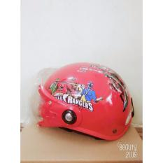 Giá bán Mũ Bảo Hiểm Trẻ Em PGK002 - Power Ranger RED