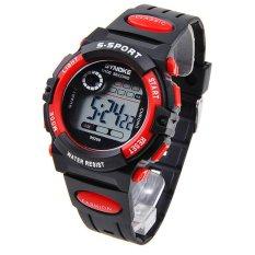 Đồng hồ đeo tay điện tử ( Màu đỏ)  dành cho  trẻ em loại chống nước nhiều chức năng. bán chạy