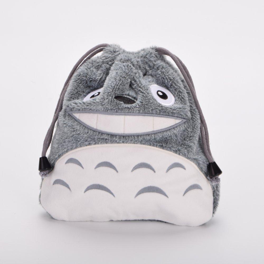 Khuyến mãi My Neighbor Totoro Cosmetic Bags Lolita Girls Plush Lacinig Pouch (Grey) - intl chỉ hôm nay - Giá chỉ 180.745đ