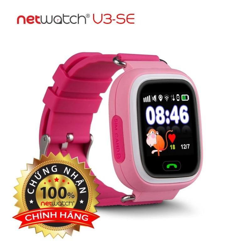 NetWatch® V3-SE Hồng - Đồng hồ định vị CHÍNH HÃNG - Màn hình cảm ứng bán chạy
