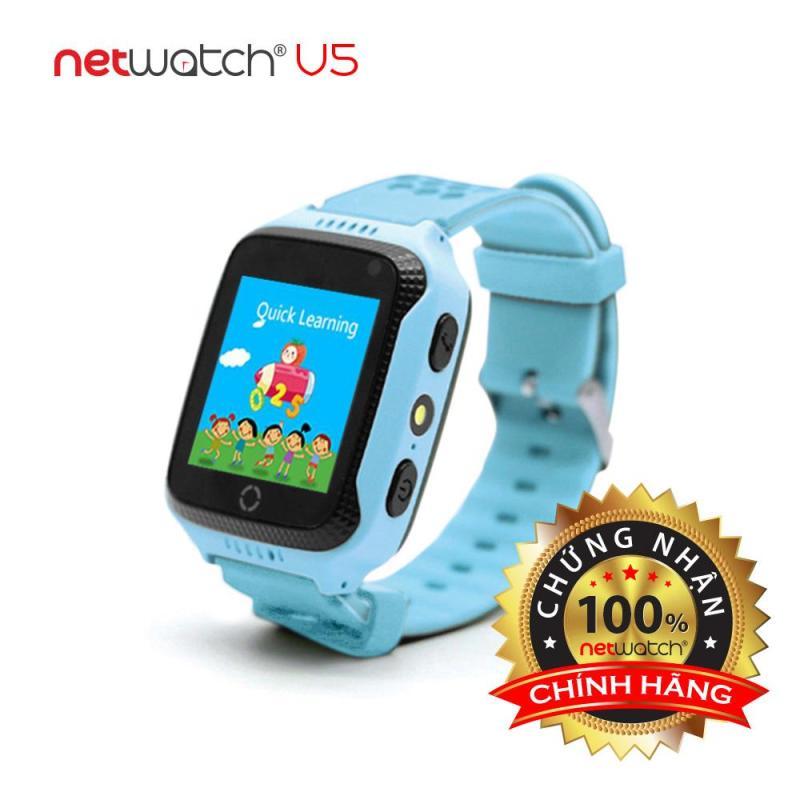 Nơi bán NetWatch® V5 Xanh | Đồng hồ định vị CHÍNH HÃNG | Màn hình cảm ứng