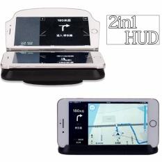 Mua New 2In1 Head Up Display For Car Hud Phone Holder Gps Navigation Image Reflector Intl Trực Tuyến