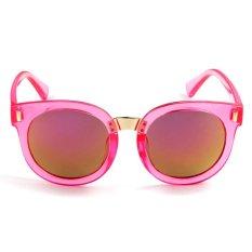 New Fashion Style Children Colorful Lenses Sunglasses Anti-Uv Sunglasses-Pink - Intl .