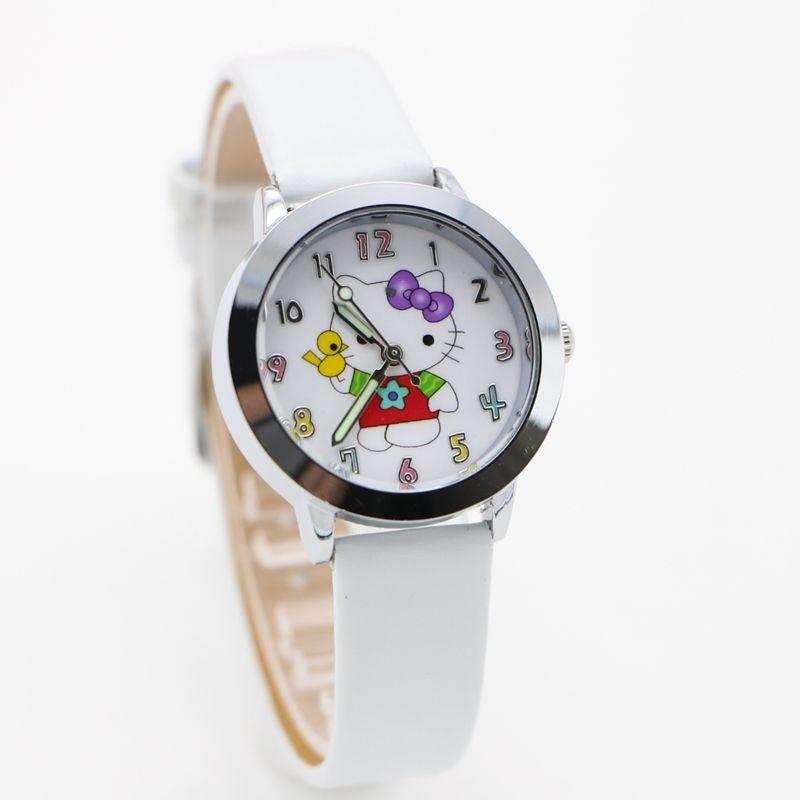 Mới đồng hồ nữ nữ trẻ em bé gái nữ Vòng Tay thạch anh đồng hồ nữ đồng hồ Nữ 3d hoạt hình đồng hồ Đồng Hồ Relogio Relojes-quốc tế bán chạy