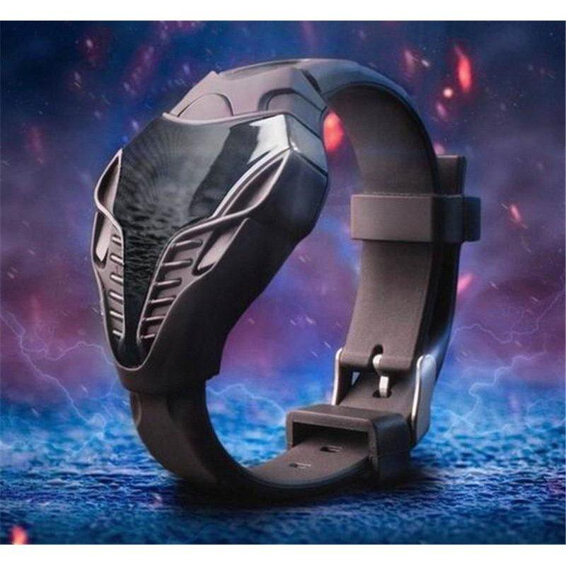 ĐÈN LED mới đồng hồ thiết kế độc đáo ốp vòng tay đồng hồ đeo tay Cho bé trai bé gái Thời Trang sinh viên kỹ thuật số đồng hồ relogio masculino Tặng- quốc tế bán chạy