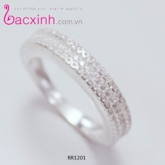 Mua Nhẫn Bạc Nữ Trang Sức Bạc Ý S925 Bạc Xinh Cầu Vồng Xinh Rr1201 Rẻ Trong Hà Nội