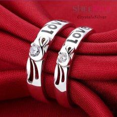 Giá Bán Nhẫn Đoi Tinh Yeu Đa Zircon Free Size Spr Q005