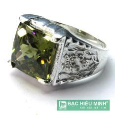 Mua Nhẫn Nam Bạc Hiểu Minh Na356 Bạc Hà Nội