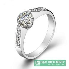 Nhẫn nữ Bạc Hiểu Minh nu366