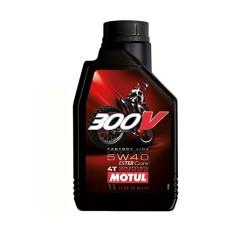 Nhớt cho xe mô tô phân khối lớn Motul 300V Factory Line 5W40 1L