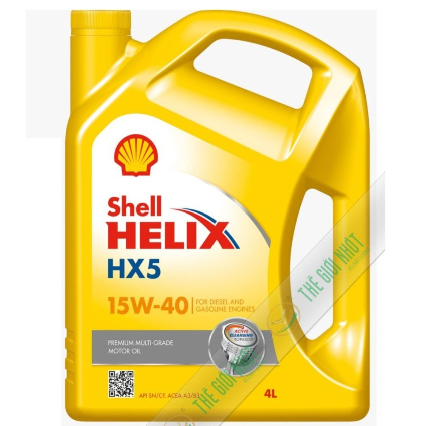 Nhớt động cơ Shell Helix HX5 15W-40