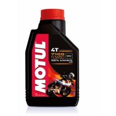Nhớt tổng hợp cao cấp cho xe máy số, mô tô PKL xe máy Motul 7100 4T 10W50 1L