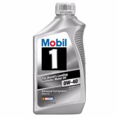 Mã Khuyến Mại Nhớt Tổng Hợp Cao Cấp Mobil 1 Sae 0W40 Full Sythetic 1L Nhập Khẩu Usa Mobil