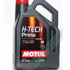 Giá Bán Nhớt Tổng Hợp O To Cao Cấp Motul H Tech Prime 5W40 4L Motul Tốt Nhất