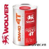Giá Bán Nhớt Xe May Tổng Hợp Wolver Four Stroke Racing 4T 10W 40 Nhập Khẩu Đức Wolver Nguyên