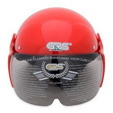 Nón bảo hiểm GRS A08K (Đỏ bóng) Nhật Bản