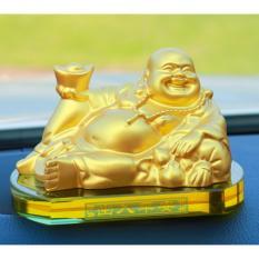 Giá Bán Nước Hoa Tượng Phật Di Lạc Mầu Vang Trang Tri Cao Cấp Tren Xe Mầu Vang Atc Nguyên