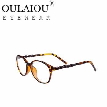 Oulaiou Fashion Accessories Anti-fatigue Trendy Eyewear Reading Glasses OJ9230 - intl - Selectbuy.