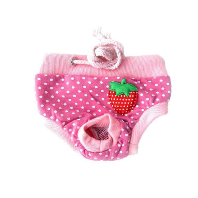 Pet Dog Diaper Washalbe Durable Doggie Diapers Pants Dog Wraps Doggy Panty Pet Underwear Sanitary Short Size L - intl giá chỉ 61.000 ₫