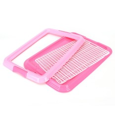 Pet Small Dogs Toilet Dog Accessories Pet Toilet Square Grid Toilet Cat Daily Supplies - Intl By Pinellia Flowers.