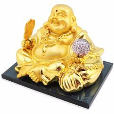 Giá Bán Phật Di Lặc Để Taplo Chạy Năng Lượng Mặt Trời Quả Cầu Trắng Oem