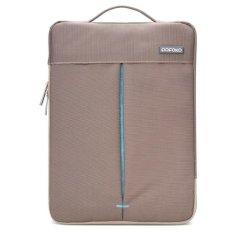 Mua Pofoko Stylish 13 3 Inch Portable One Shoulder Quality Nylon Fabric Waterproof Laptop Bag Yellow Brown Intl Rẻ