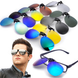 Giá Bán Polarized Clip On Sunglasses Lens Fishing Night Driving Uv400 Quicksilver Mới