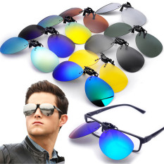 Cửa Hàng Polarized Clip On Sunglasses Lens Fishing Night Driving Uv400 Quicksilver Trực Tuyến