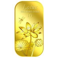 Puregold Miếng Vang Hinh Hoa Sen 1G Vang 999 9 Nhập Khẩu Singapore Chiết Khấu Hồ Chí Minh