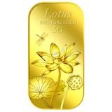 Mã Khuyến Mại Puregold Miếng Vang Hinh Hoa Sen 5G Vang Nguyen Chất Nhập Khẩu Singapore Pure Gold Mới Nhất