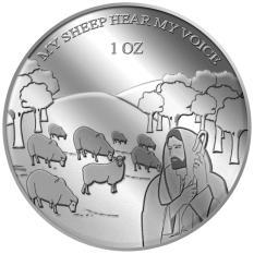 Bán Puregold Thỏi Bạc Trong Bộ Sưu Tập Kinh Thanh My Sheep Hear My Voice 1Oz Bạc Nhập Khẩu Singapore Nguyên