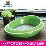 Giá Bán Purmi Khay Cat Vệ Sinh Cho Meo Size Nhỏ Mau Xanh Kem Xẻng Mới